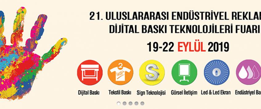 معرض تقنيات الطباعة والاعلان Sign İstanbul 2019 في اسطنبول