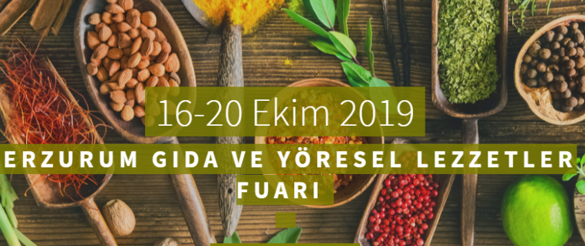 معرض الاغذية والنكهات المحلية في ارزوروم 2019 – ماكس ميد