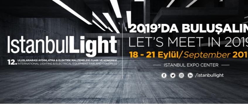 معرض الاضاءة والمعدات الكهربائية 2019 في اسطنبول