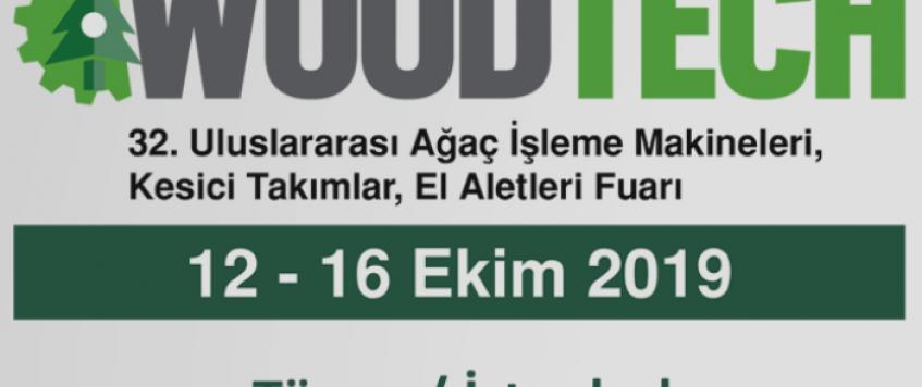 معرض آلات النجارة والخشب 2019 في اسطنبول