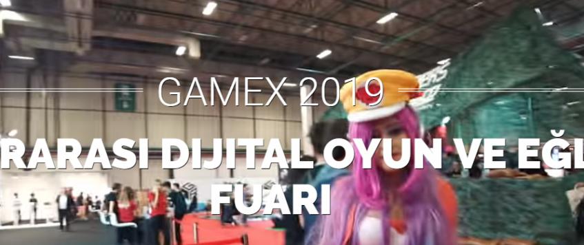 معرض جيمكس الدولي للتسلية والالعاب الالكترونية Gamex 2019 في اسطنبول