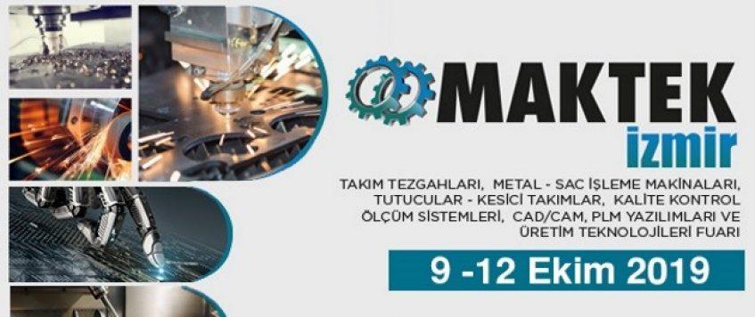 معرض الات الخراطة والقص  2019 في ازمير – ماكس ميد للشحن الدولي